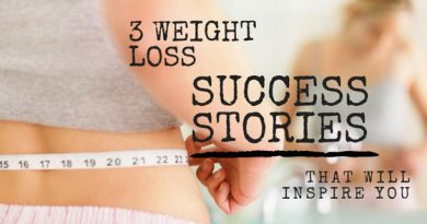 3 Weight Loss Success Stories That Will Inspire You