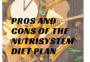 Nutrisystem: Pros and Cons
